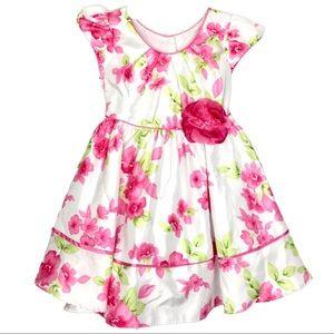 3T Jona Michelle Summer Floral Dress